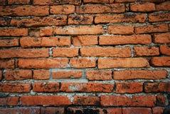 La pared de ladrillo vieja Fotos de archivo libres de regalías