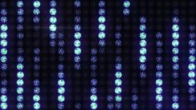 La pared de la luz el efecto de la lluvia, lazo almacen de metraje de vídeo