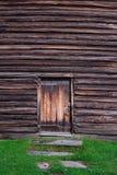 La pared de madera áspera, textura de madera, fondo Imágenes de archivo libres de regalías