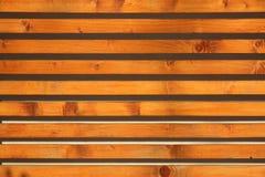 La pared de madera Foto de archivo