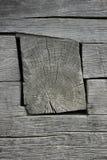La pared de madera vieja Foto de archivo