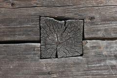 La pared de madera vieja Fotografía de archivo