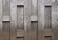 La pared de madera vieja en Tailandia Fotografía de archivo libre de regalías