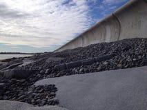 La pared de mar Foto de archivo libre de regalías
