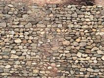La pared de piedra más vieja fotos de archivo
