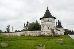 La pared del monasterio Imagen de archivo libre de regalías