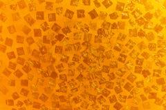 La pared del oro Foto de archivo libre de regalías