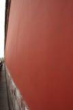 La pared del palacio imperial en China foto de archivo libre de regalías