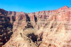 La pared del parque nacional de Grand Canyon Foto de archivo