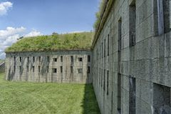 La pared externa Imagenes de archivo