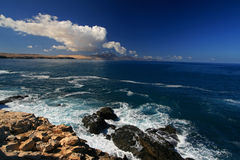La Pared in Fuerteventura. La Pared, Fuerteventura, Canary Islands, Spain Royalty Free Stock Image