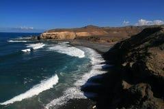 La Pared in Fuerteventura. La Pared, Fuerteventura, Canary Islands, Spain Stock Photo