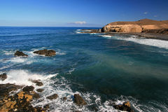La Pared in Fuerteventura Royalty Free Stock Photography