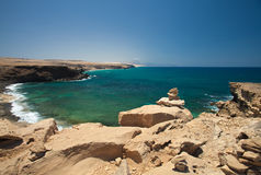 La Pared, Fuerteventura Royalty Free Stock Images