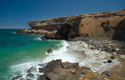 La Pared, Fuerteventura Stock Photo
