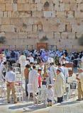 La pared occidental del templo Imagenes de archivo