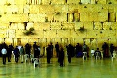 La pared occidental en Jerusalén (Israel) Foto de archivo libre de regalías