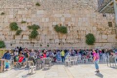 La pared occidental, Jerusalén Imagen de archivo libre de regalías