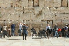 La pared que se lamenta, Jerusalén - Israel Imágenes de archivo libres de regalías