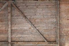 La pared trasera del chalet viejo Imagen de archivo libre de regalías