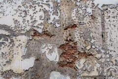 La pared vieja del cemento Fotografía de archivo