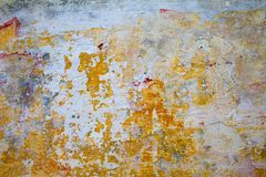 La pared vieja del yeso del edificio Imagenes de archivo