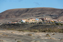 La Pared village on the south western part of Fuerteventura Stock Photo