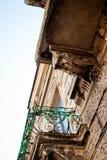 La parete con i balconi Fotografia Stock Libera da Diritti