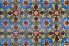 La parete decorativa piastrella multicolore per la casa Fotografia Stock Libera da Diritti