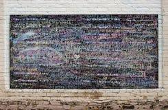 La parete dei desideri Fotografie Stock Libere da Diritti