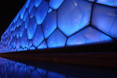 La parete del cubo, sosta nazionale olimpica Immagine Stock Libera da Diritti
