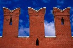 La parete del Kremlin Immagini Stock Libere da Diritti