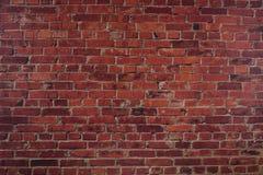 La parete del mattone rosso Fotografia Stock