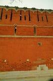La parete del monastero Fotografie Stock Libere da Diritti
