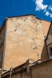 La parete della casa Fotografie Stock