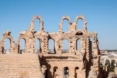 La parete della fortezza di vecchio castello Fotografia Stock Libera da Diritti
