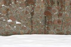 La parete della pietra naturale Fotografie Stock