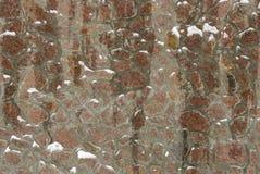 La parete della pietra naturale Fotografia Stock
