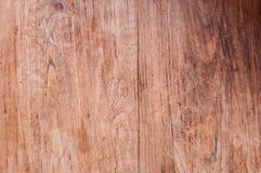 La parete della plancia del legno duro del tek, struttura il vecchio legno immagini stock libere da diritti