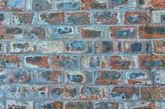 La parete di legno dura di stile del sottotetto fatta dalle vecchie strade di ferrovia monta Immagine Stock Libera da Diritti