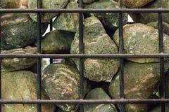 La parete di pietra Fotografie Stock Libere da Diritti