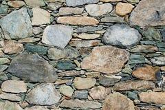 La parete di pietra Immagini Stock Libere da Diritti