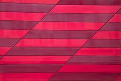 La parete di pietra piastrella la banda rossa Fotografia Stock Libera da Diritti
