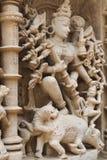 La parete di pietra scolpisce i dettagli di gfw w Immagine Stock