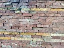 La parete di una casa nella vecchia parte della città! Fotografia Stock Libera da Diritti