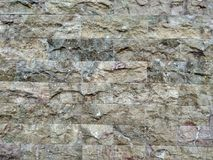 La parete di una casa nella vecchia parte della città! Immagini Stock Libere da Diritti