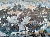 La parete di una casa nella vecchia parte della città! Immagine Stock Libera da Diritti