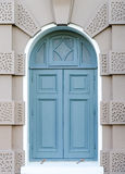 La parete e la finestra del corridoio del trono del prasat di Maha di chakri Fotografie Stock Libere da Diritti