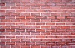 La parete ed o muratura rossa Fotografia Stock Libera da Diritti