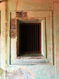 La parete esclusa annata e la struttura fotografia stock